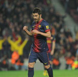 Se confirma la baja de David Villa para recibir al Málaga