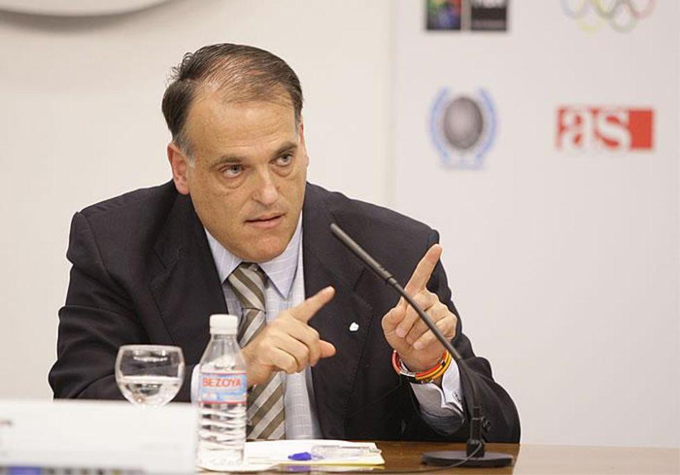 "Javier Tebas: ""En España se han amañado partidos"""