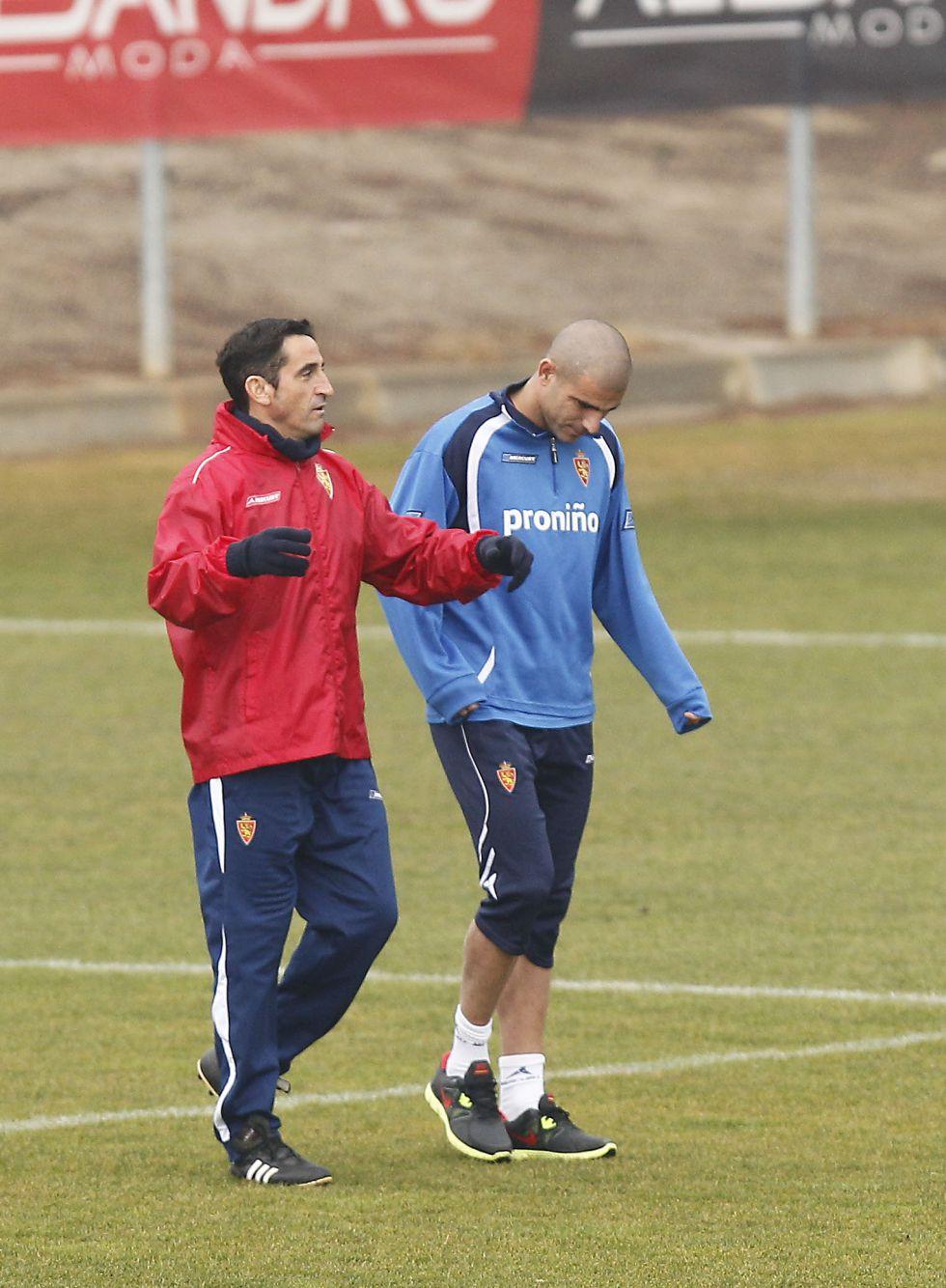 El Zaragoza abre un expediente a Aranda por negarse a jugar