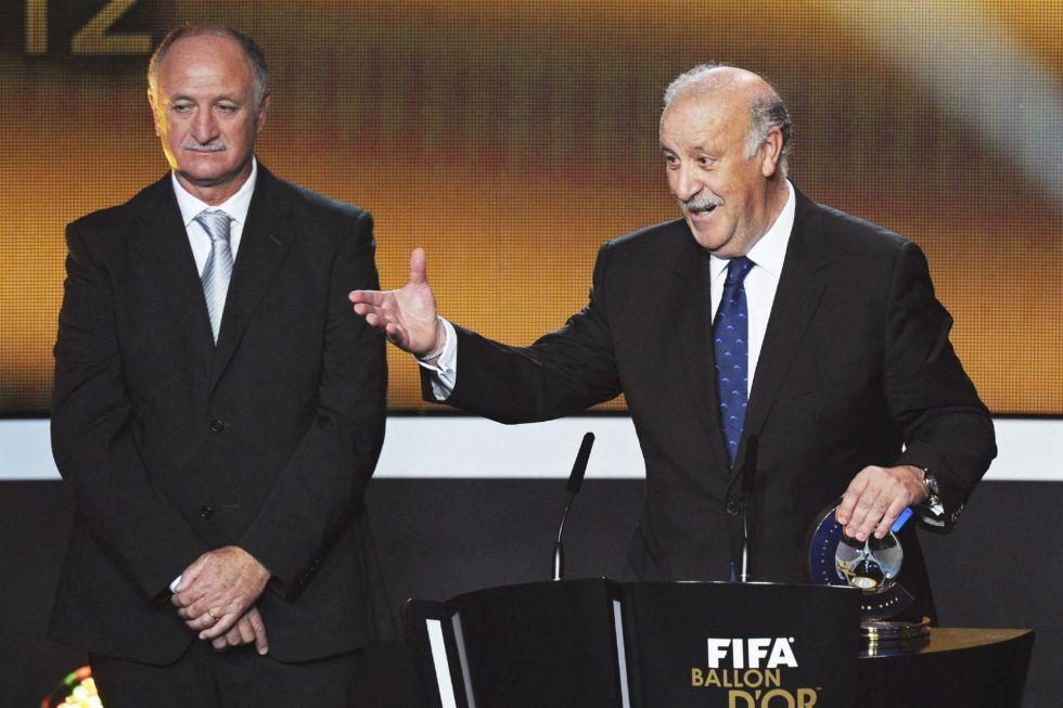 """Del Bosque: """"Messi es la hostia"""""""