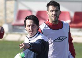 Manolo Jiménez mide a Unai Emery en su debut sevillista