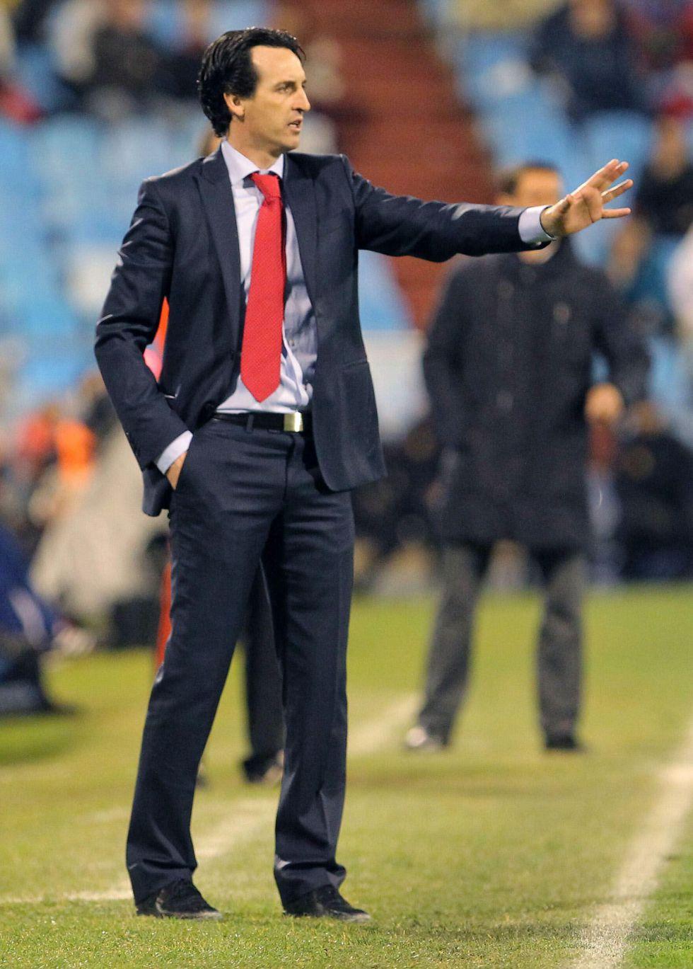 """Unai Emery: """"Hemos tenido cuatro ocasiones para marcar"""""""