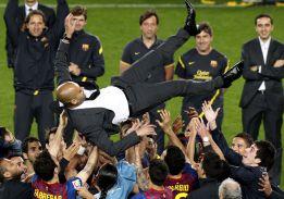Guardiola: 14 títulos en cuatro temporadas en el Barcelona