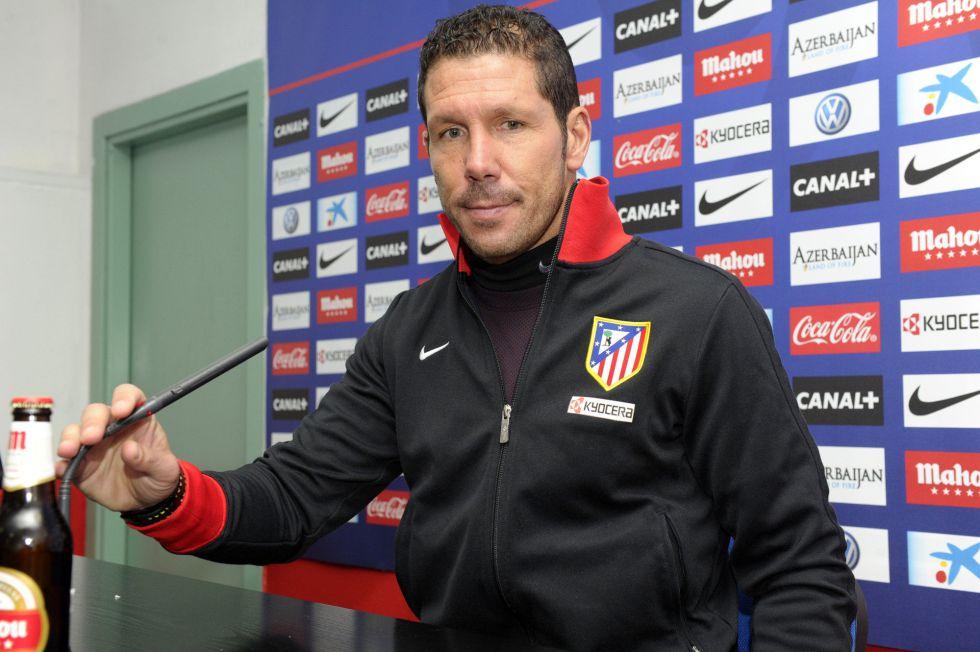 """Diego Simeone: """"Falcao está bien y casi seguro jugará"""""""