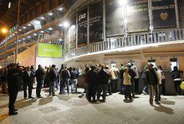 El Valencia confía en que el estadio se llene en Copa