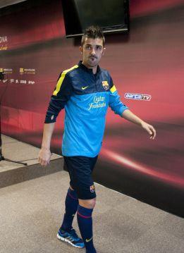 Villa sigue al margen y es duda ante la Real Sociedad