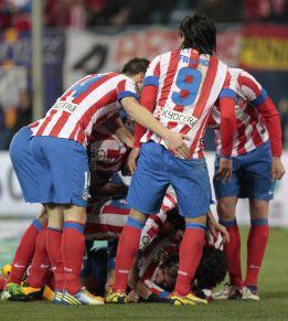 Falcao y Filipe hacen los goles y Courtois, las salvadoras paradas