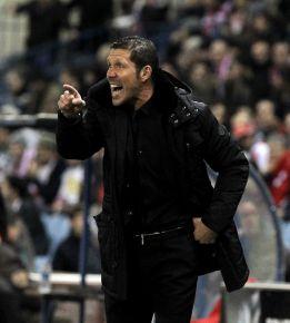 """Simeone dice que la actuación de Courtois """"nos permitió ganar"""""""