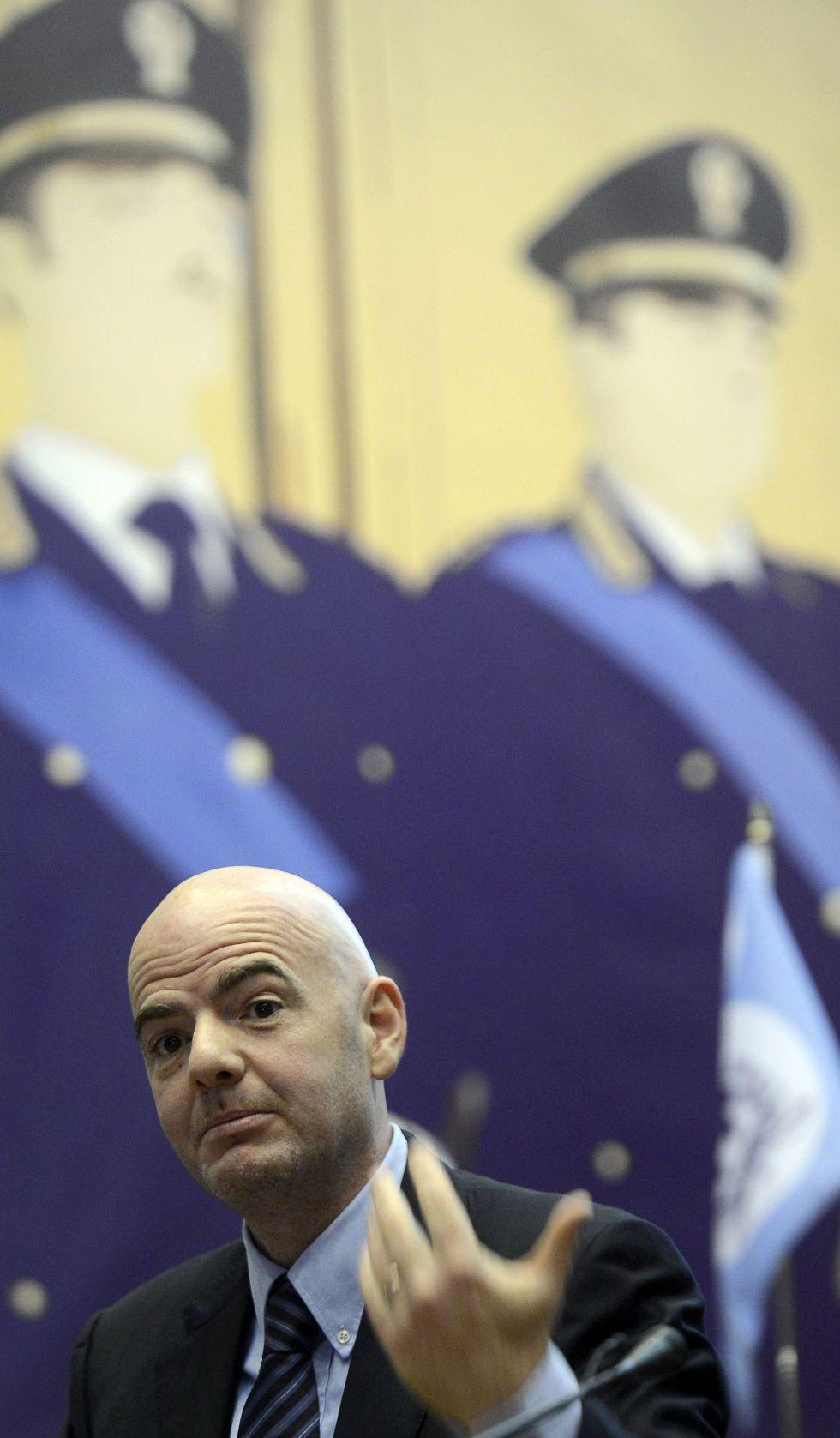 """La UEFA: """"Luchamos para acabar con la corrupción y el amaño"""""""