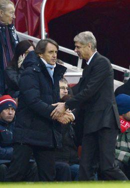 Mancini nunca se vio amenazado por los rumores sobre Guardiola