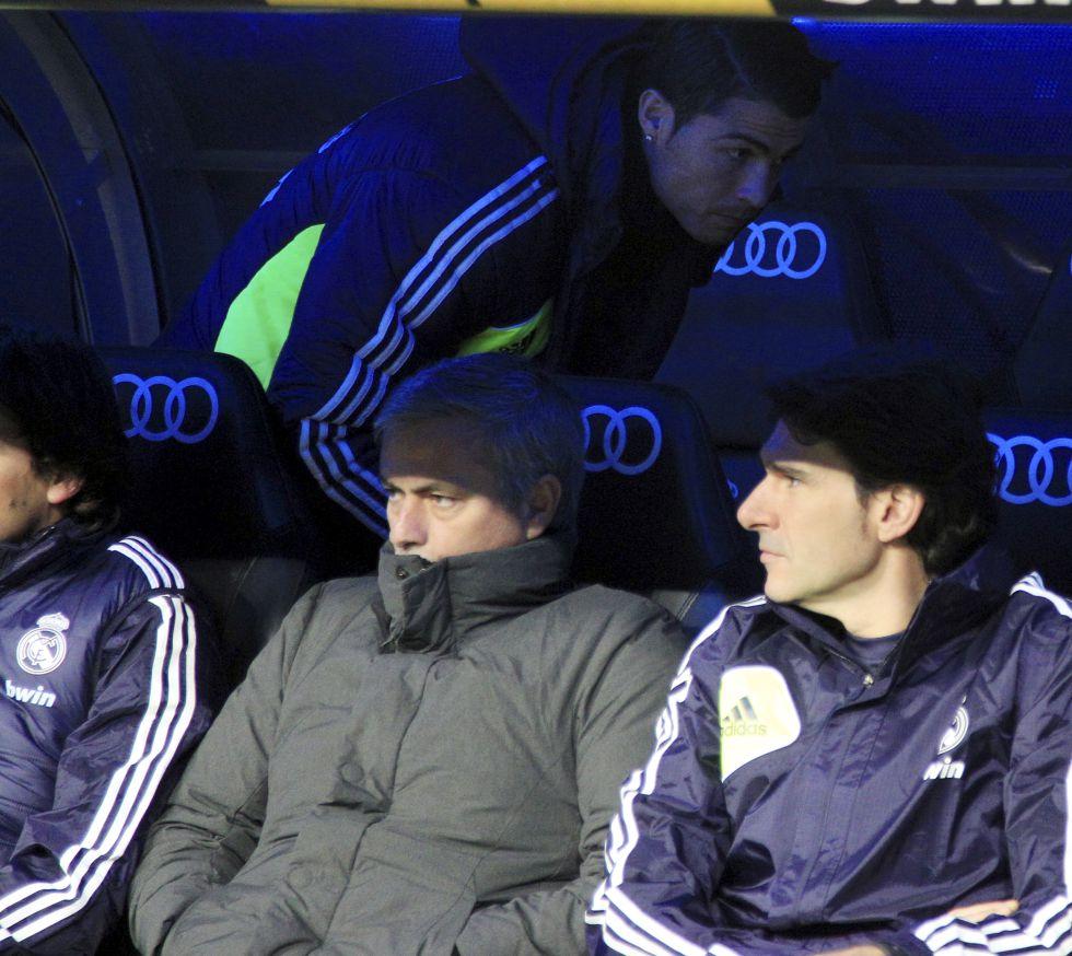 Cristiano Ronaldo, muy dolido y decepcionado con Mourinho