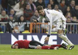 Apelación ratifica la sanción de cinco partidos a Sergio Ramos