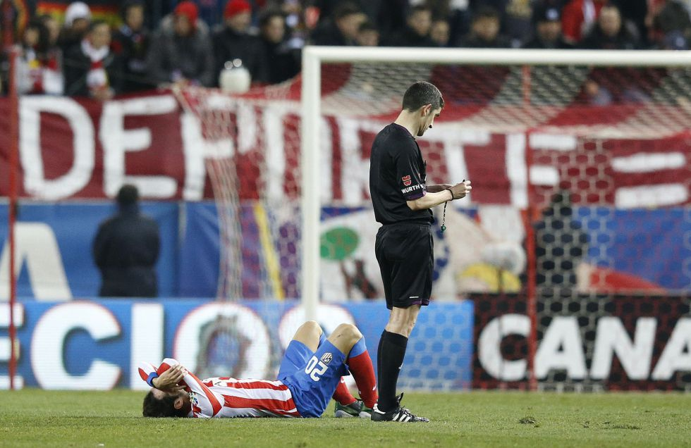 Alarma atlética: Juanfran duda; Filipe Luis no se entrenó