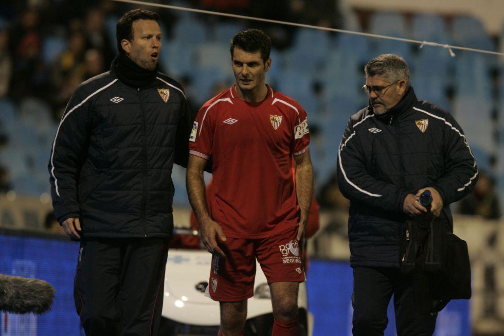 Fernando Navarro y Spahic, bajas en la lista de Unai Emery