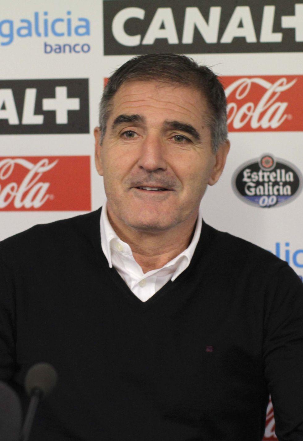 """Paco Herrera: """"El Málaga tiene gente para hacer grandes cosas"""""""