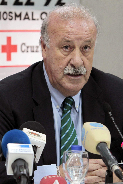 """Vicente Del Bosque: """"No conozco un fútbol manchado"""""""