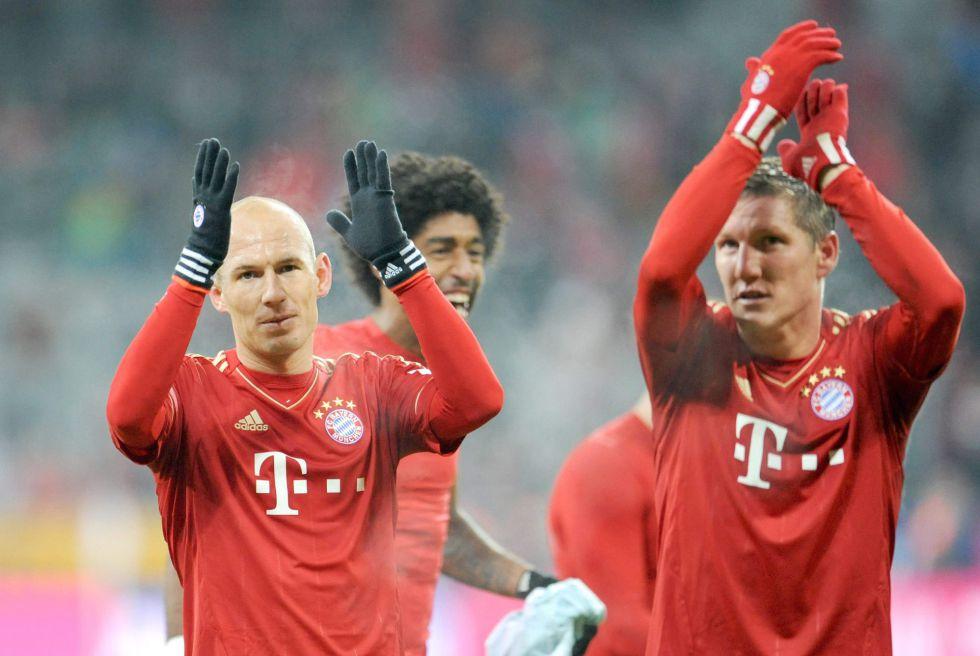 El Bayern vence al colista y el Leverkusen derrota al Eintracht