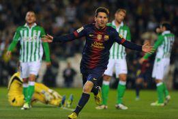 Messi, 1,47 goles por partido