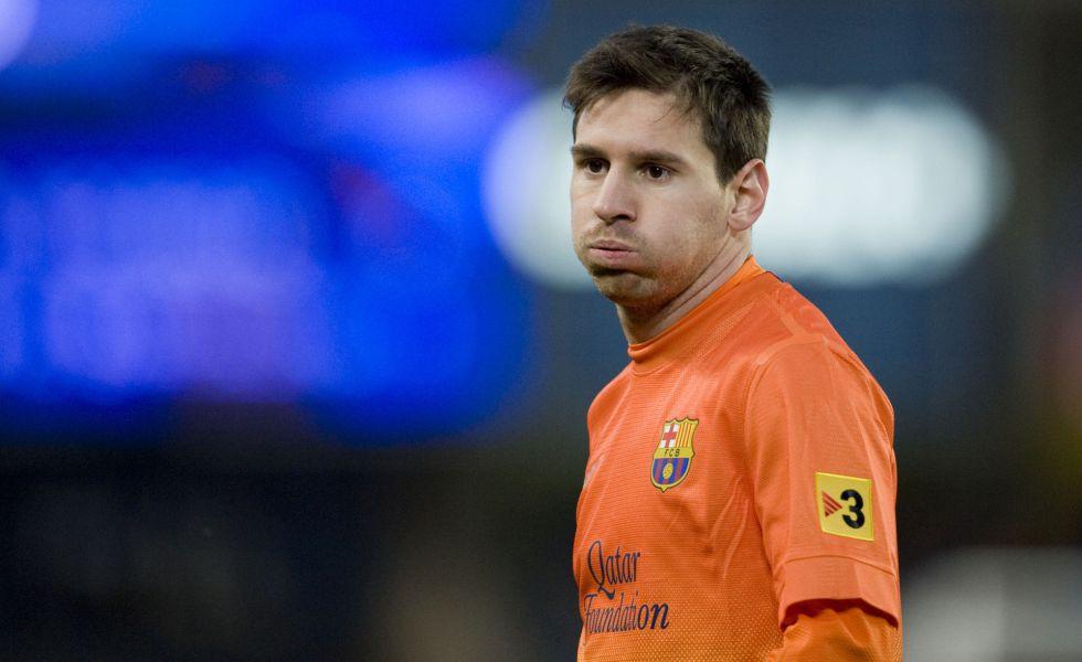 """Leo Messi: """"Con algunos árbitros no se puede ni hablar"""""""