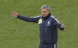 Mourinho dirigió la sesión 45' y luego fue a ver jugar a su hijo