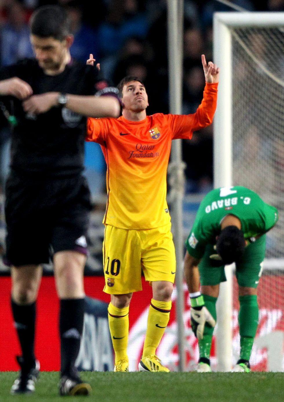Messi iguala otro récord: diez jornadas consecutivas marcando