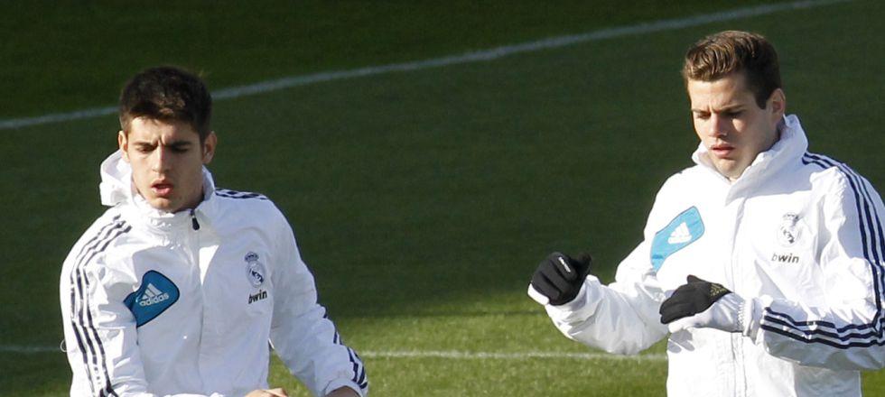 Morata repite como 9 para aguar el debut de Marcelino