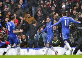 Al Chelsea le basta una gran primera parte ante el Arsenal