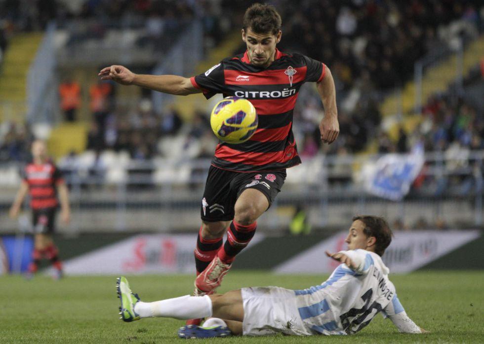 El Málaga recibe otro toque de atención por un Celta peleón