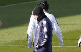 Mourinho entrenó 45 minutos y se fue a ver jugar a su hijo