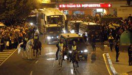 El Madrid, alertado por el recibimiento a su autobús