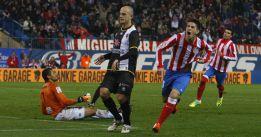 El Levante nunca ha ganado al Atleti en el Vicente Calderón