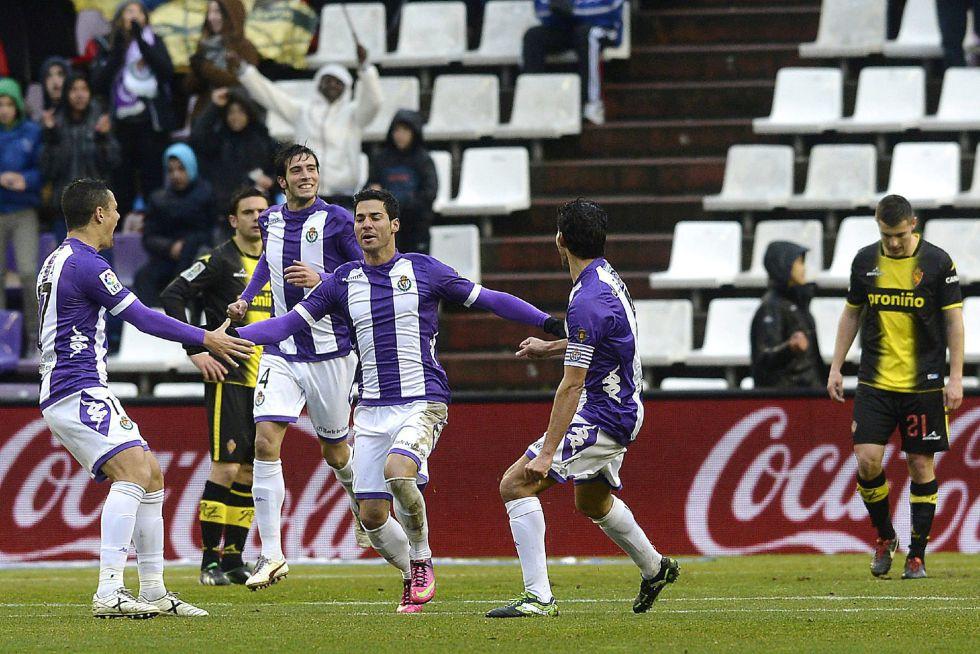 El Valladolid deja en nada a un Zaragoza perdido en ataque