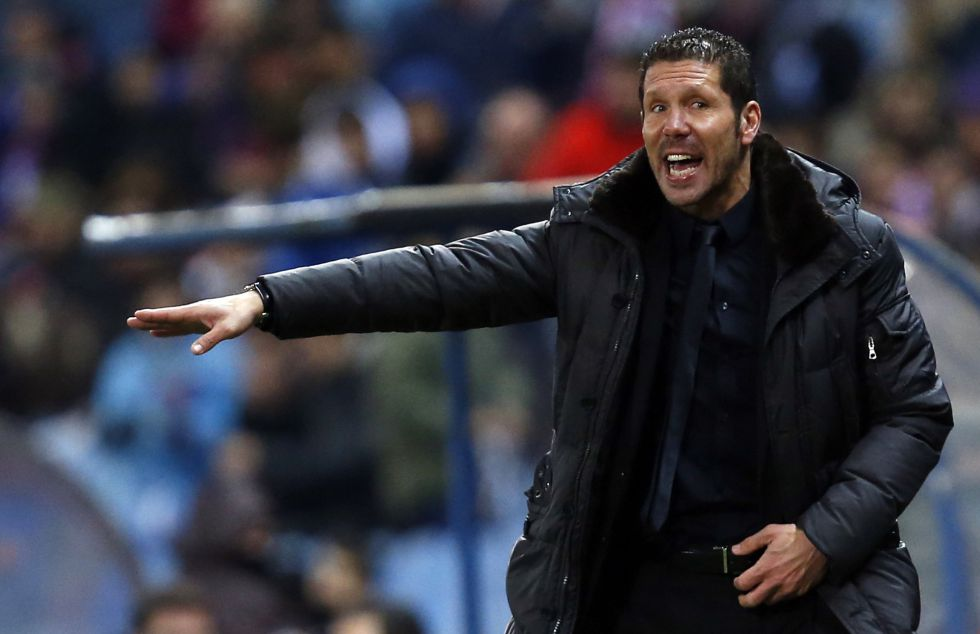"""Simeone a Ballesteros: """"Defiende a su club; tiene mucho carácter"""""""