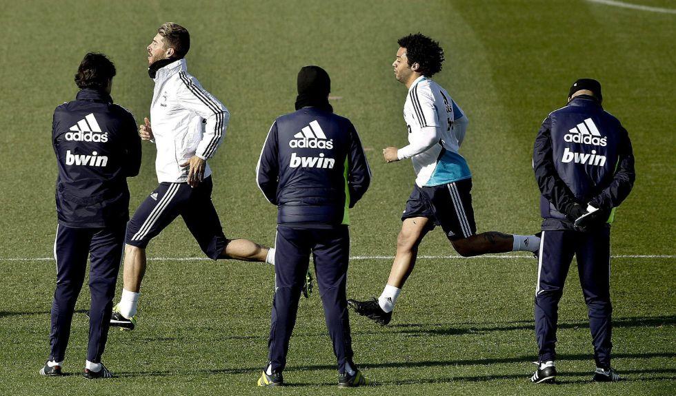 Khedira, Xabi Alonso, Cristiano y Özil trabajaron en el gimnasio