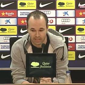 "Andrés Iniesta: ""I'll miss Valdés; he's the best in the world"""