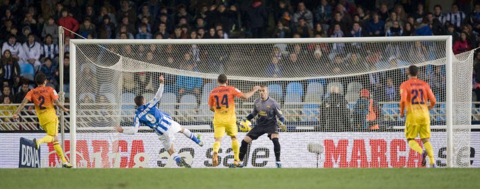 El Barcelona se muestra débil en los últimos minutos