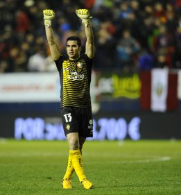 Andrés Fernández ve posible puntuar contra el Barcelona
