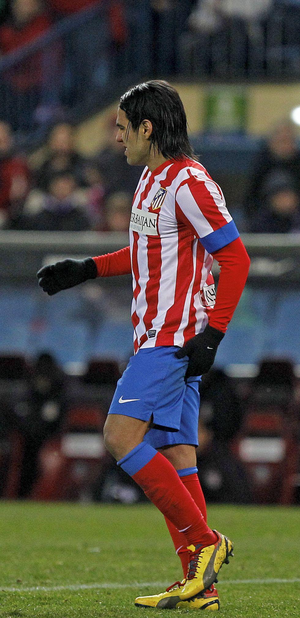 El Atlético de Madrid espera a Falcao en la semifinal de Copa
