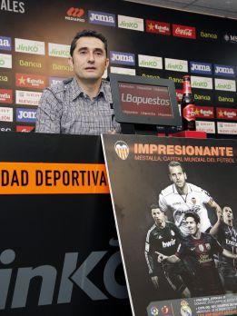 """Valverde: """"No podemos agachar la cabeza ante el Real Madrid"""""""