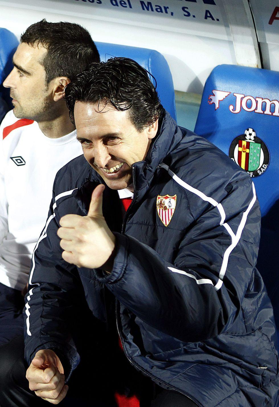 """Emery: """"Hay esperanzas y somos optimistas para la Copa"""""""