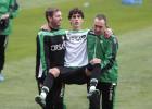 Mario y Vilarchao, bajas por lesión ante el Atlético