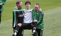 Mario y Vilarchao, bajas por lesión ante el Atlético de Madrid