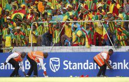 Etiopía sorprende a base de fútbol a la campeona Zambia