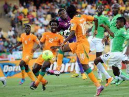 Gervinho salvó a Costa de Marfil