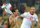 Un gol de Túnez en el 91' frustra el buen debut de Feghouli