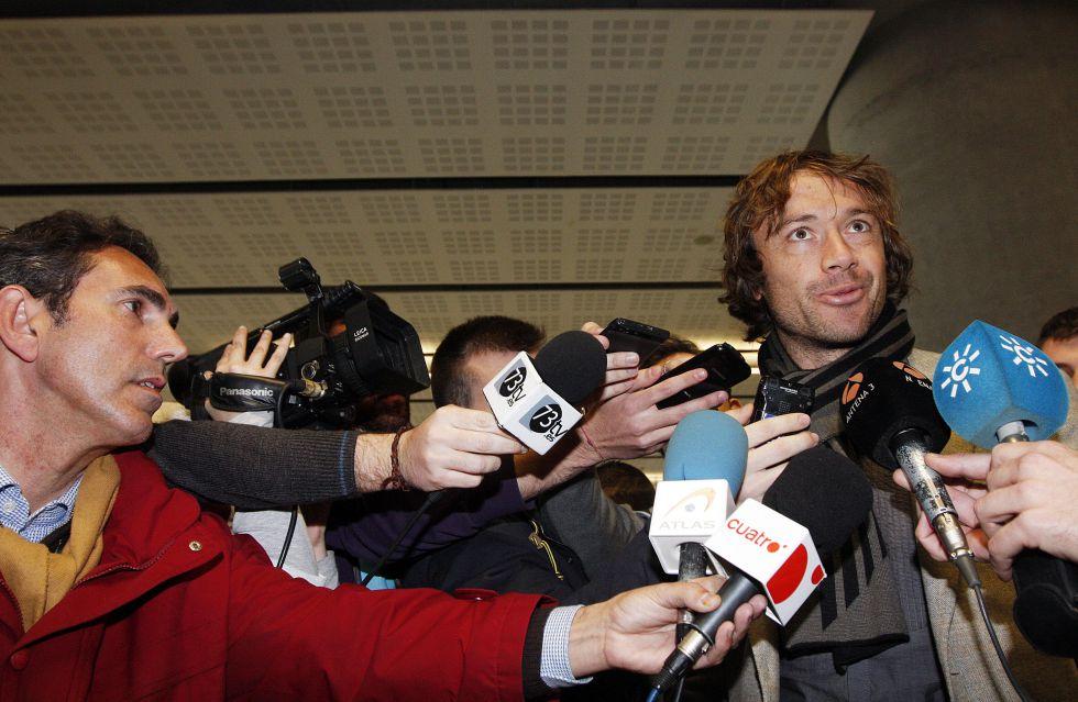 """Lugano aterriza en Málaga: """"Es lindo embarcarse en este reto"""""""
