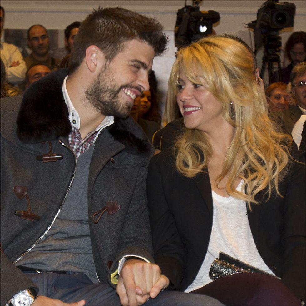 Piqué y Shakira han sido padres