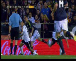 El Madrid se quejó de las rojas a Fabio Coentrao y Di María
