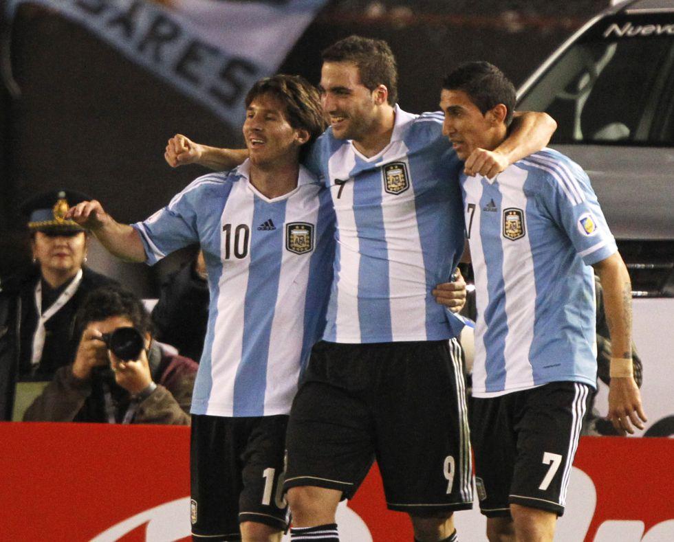 Di María, Higuaín, Mascherano y Messi, en la lista de Sabella