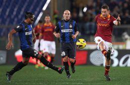 La Roma cobra una mínima ventaja ante el Inter en Copa